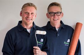 Vakmannen Sven Schoeters en Bjorn Schoeters
